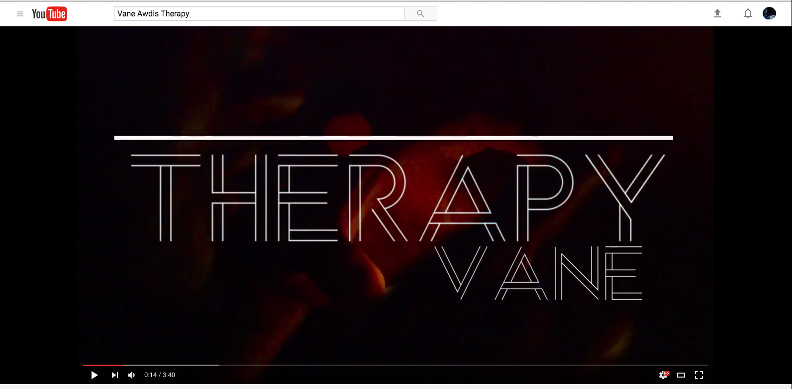 Therapy Music Video